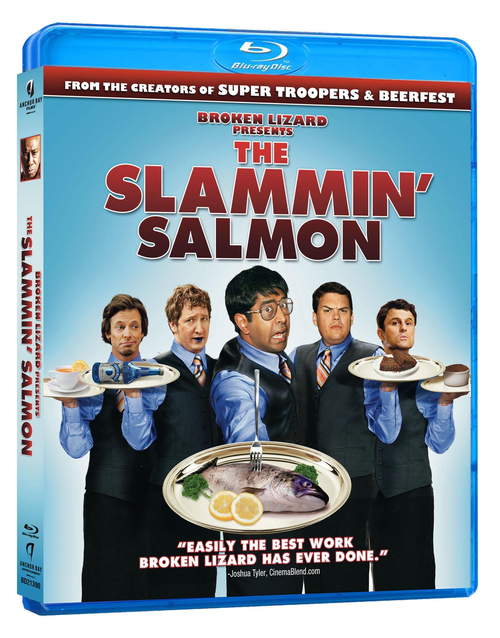 Скачать Верзила Салмон / The Slammin' Salmon (2009/BDRip/720p