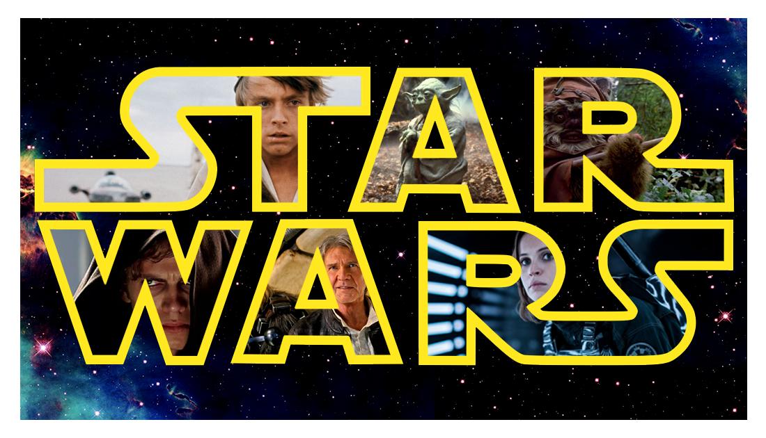 The Star Wars Saga List