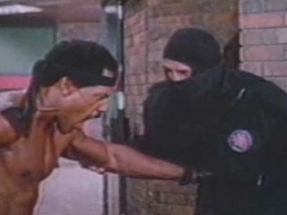 American Ninja 2 The Confrontation Beach Fight
