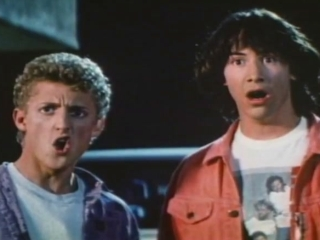 BILL AND TED'S EXCELLENT ADVENTURE (TRAILER 1)