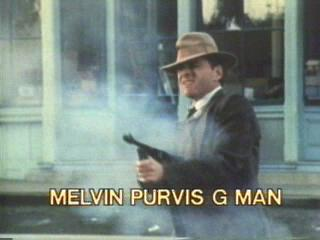Melvin Purvis G Man