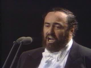 Luciano Pavarotti The Event