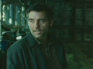 CHILDREN OF MEN SCENE: LUKE FINDS KEE AND THORN IN THE BARN