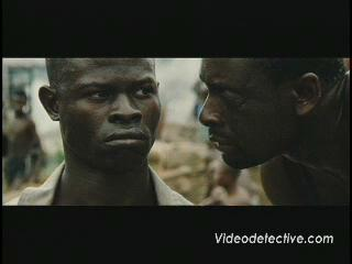 BLOOD DIAMOND SCENE: YOU WILL DIG UP WHAT YOU CAME FOR