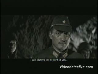 Letters From Iwo Jima Scene Kuribayashi Gives Speech