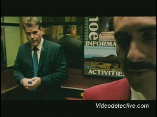 SMOKIN' ACES SCENE: CARRUTHERS CONFRONTS ACOSTA IN THE ELAVATOR