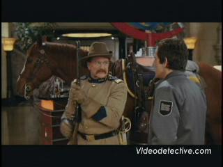 Night At The Museum Scene Larry Meets Teddy Roosevelt