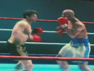 Rocky Balboa Scene: Virtual Boxing Match