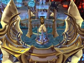 Gamescom Eternal Conflict Trailer Shrines Fly Over