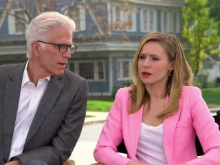 The Good Place: Ted Danson And Kristen Bell On Who She Would Want To See In The Afterlife