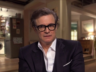 Colin Firth On Where We Find Mark At The Beginning Of The Film