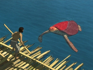 The Red Turtle: On The Raft