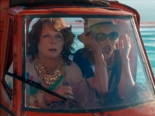 Absolutely Fabulous: The Movie: Tiny Car Chase