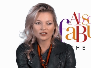 Absolutely Fabulous: The Movie: Kate Moss On The Atmosphere On Set