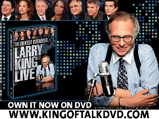 Larry King Live The Greatest Interviews Scene Ronald Reagan