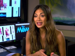 Moana: Nicole Scherzinger On How She Heard About The Film