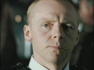 Hot Fuzz Scene Being Stabbed
