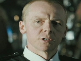 HOT FUZZ SCENE: BEING STABBED