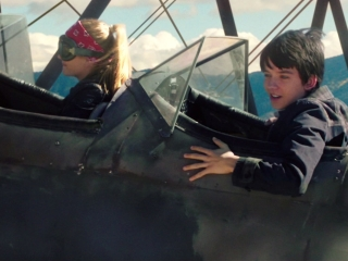The Space Between Us: Biplane Crash