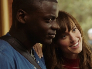 Get Out: Two Party Guests Ask Rose About Chris