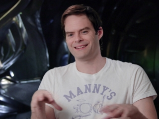 Power Rangers: Bill Hader On The Relationship Between 'Alpha 5' And 'Zordon'