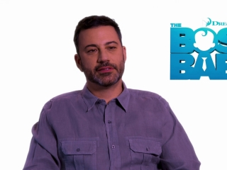 The Boss Baby: Jimmy Kimmel on working with the Director (International)