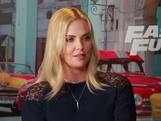 Charlize Theron On Working With Jason Stratham