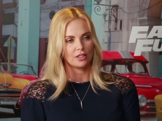 Charlize Theron On The Zombie Cars
