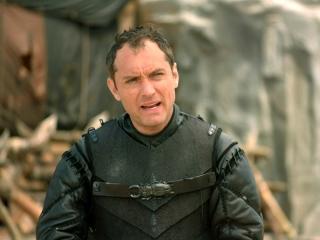 Jude Law On Vortigern Becoming King