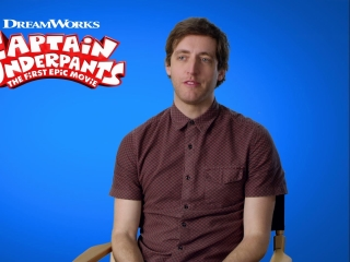 Captain Underpants: The First Epic Movie: Thomas Middleditch On Harold Hutchins
