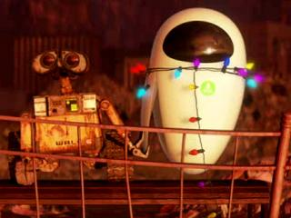 Wall-E caring for Eve even though she's been turned off