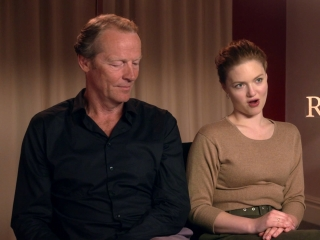 Iain Glen And Holliday Grainger On How Holliday Got Involved In The Project