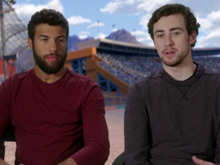 Bubba Wallace And Ryan Blaney On Why They Re Excited To Be In The Film