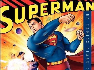 The New Adventures Of Superman Scene: Violent Volcano