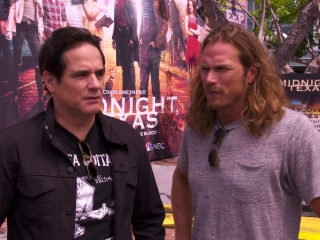 Midnight, Texas: Yul Vasquez And Jason Lewis