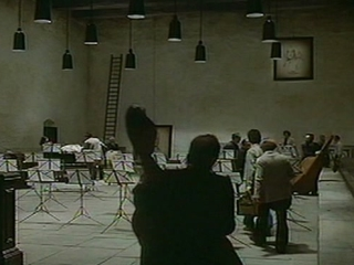 Federico Fellinis Orchestra Rehearsal