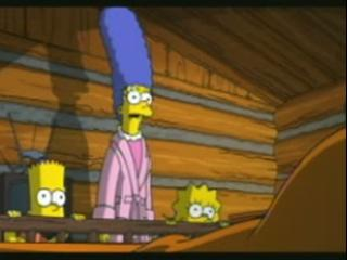 Simpsons Movie Scene Family Confronts Homer