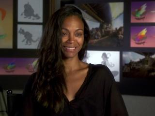 Zoe Saldana On Her Character Captain Celaeno