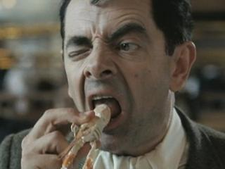 Mr Beans Holiday Bean Eats Langoustine
