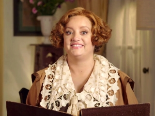 Etta Candy Gives A Lesson On The Amazons