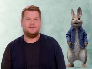 Peter Rabbit: James Corden As 'Peter Rabbit' (Vignette)