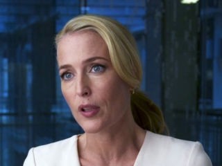 The Spy Who Dumped Me: Gillian Anderson on Working on a Comedy