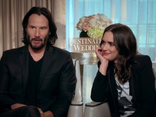 Destination Wedding: Winona Ryder & Keanu Reeves On Working Together