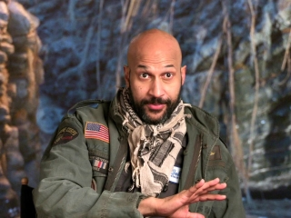 The Predator: Keegan-Michael Key on the scale of the film