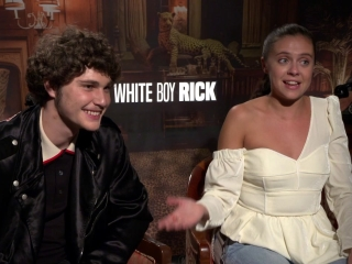 White Boy Rick: Richie Merritt & Bel Powley On The Cast And Working Together