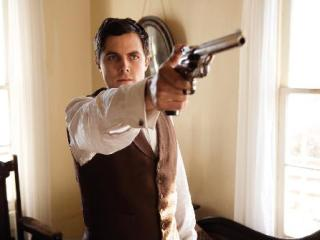 The Assassination Of Jesse James By The Coward Robert Ford Scene Bath