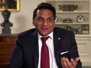 Ravi Patel On Working With Seth Rogen And Charlize Theron