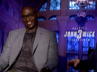 Ian Mcshane And Lance Reddick On Seeing The Film In Theaters
