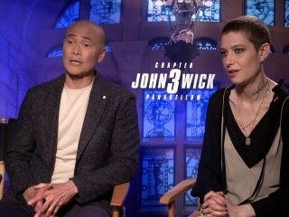 Mark Dacascos And Asia Kate Dillon