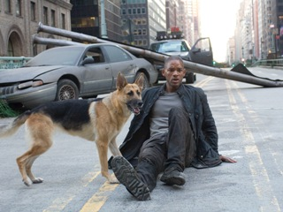 I AM LEGEND SCENE: 6 BILLION PEOPLE ON EARTH